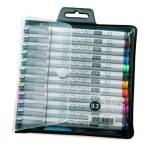 Set de 12 COPIC MULTILINER SP Couleurs Pointe 0,3mm