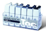Copic Wide Set C: 12 gris + 12 recharges d'encre