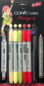 Set Copic Ciao Manga 8