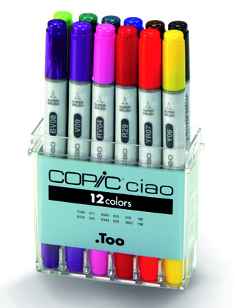 Set Copic Ciao - 12 couleurs