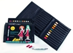 Set Copic Ciao Manga Uniformes d'écoliers - 12 couleurs + trousse gratuite