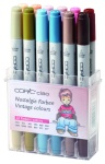 Set Copic Ciao - 12 couleurs Vintage