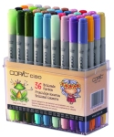 Set Copic Ciao Scrap - 36 couleurs vives