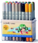 Set Copic Ciao Manga - 36 couleurs