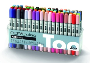 Set Copic Ciao B - 72 couleurs