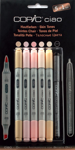 Set Copic Ciao Couleurs Chairs