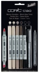Set Copic Ciao Gris Chauds