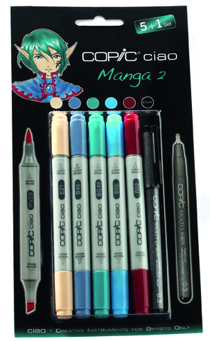 Set Copic Ciao Manga 2
