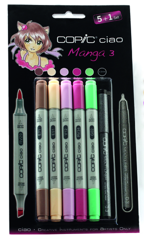 Set Copic Ciao Manga 3