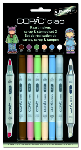 Set Copic Ciao Scrap 2
