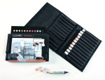 Set Copic Marker: 12 couleurs architecture + trousse gratuite
