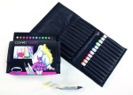 Set Copic Marker: 12 couleurs brillantes + trousse gratuite