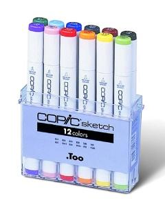 Set Copic Sketch - 12 couleurs