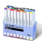 Set Copic Sketch - 36 couleurs