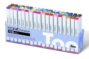 Set Copic Sketch A - 72 couleurs