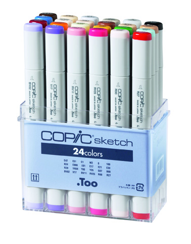 Set Copic Sketch - 24 couleurs