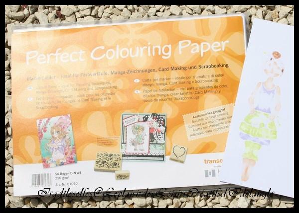 Bloc papier Papier Perfect Colouring Copic A4 10 feuilles Copic