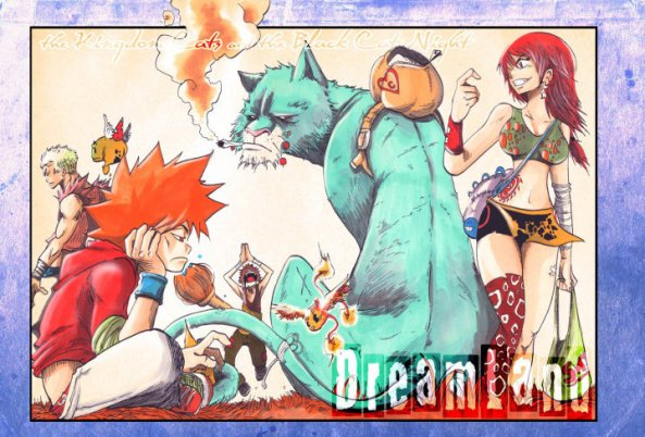 Dreamland, manga de Bruno Lemaire. Colorisation au COPIC.