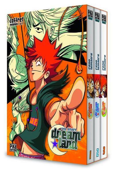 Dreamland, manga français de Reno Lemaire. Colorisation aux marqueurs à alcool COPIC.