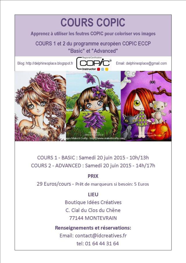Cours Copic 20 juin