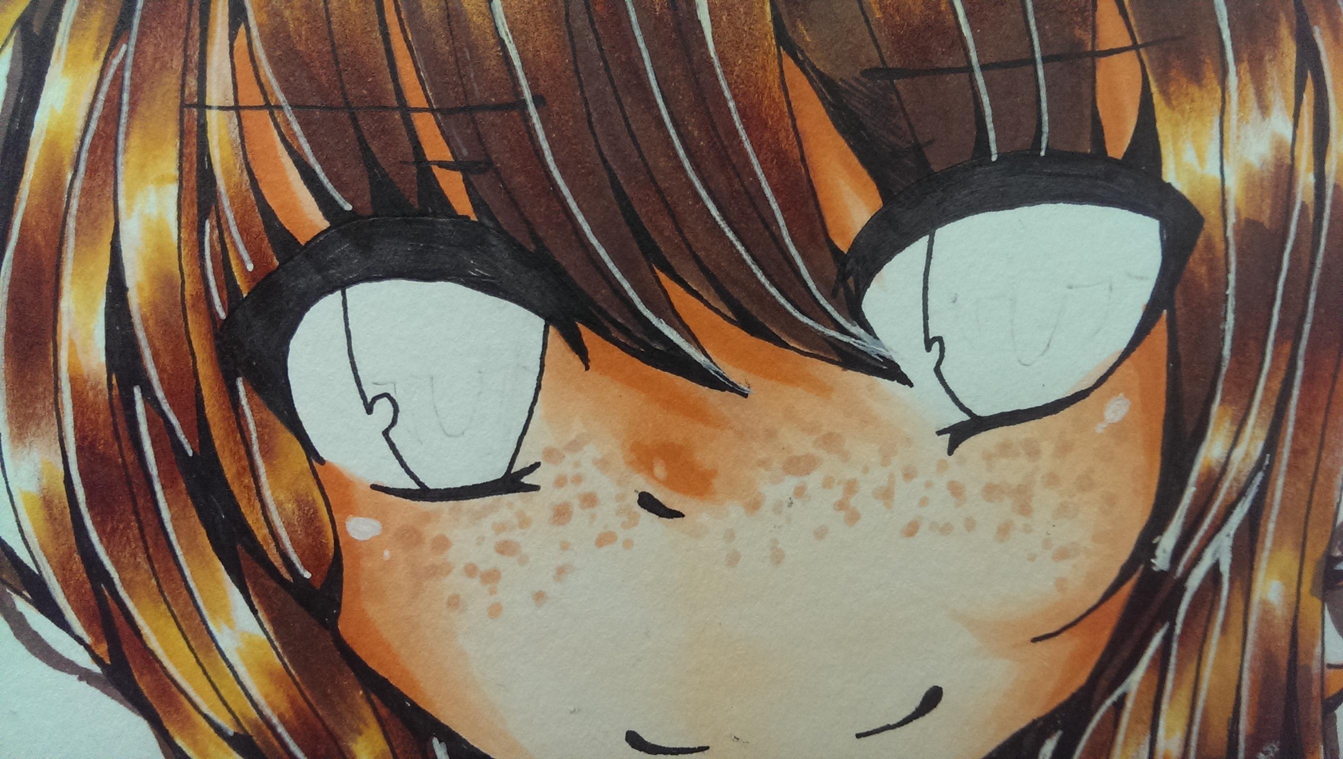 Comment colorier des yeux manga avec les feutres copic copic france - Comment colorier un manga ...